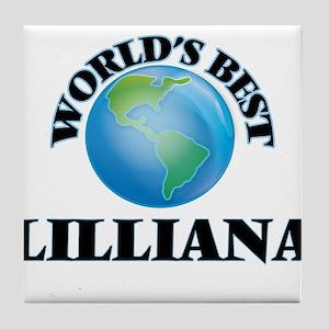 World's Best Lilliana Tile Coaster