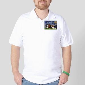 Starry / 4 Cavaliers Golf Shirt