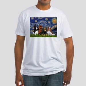 Starry / 4 Cavaliers Fitted T-Shirt