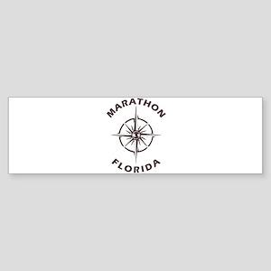 Florida - Marathon Bumper Sticker