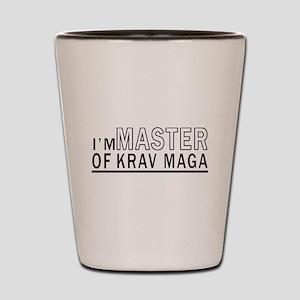 I Am Master Of Krav Maga Shot Glass