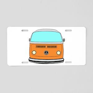 camper van Aluminum License Plate