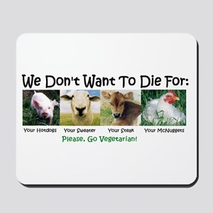 Animal Voices Mousepad