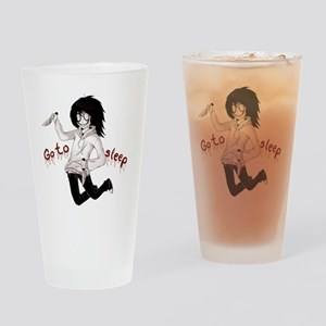 Jeff the Killer Drinking Glass