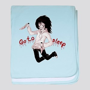 Jeff the Killer baby blanket