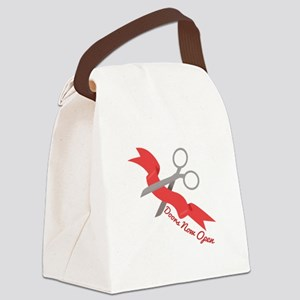 Now Open Canvas Lunch Bag