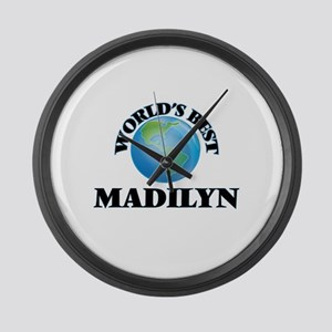 World's Best Madilyn Large Wall Clock