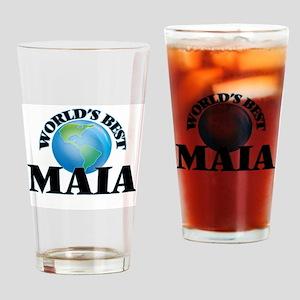 World's Best Maia Drinking Glass
