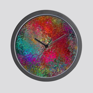 Yonder Abstract Heaven Wall Clock