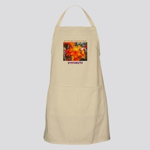 Flower With 'Tude BBQ Apron