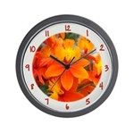 Flower With 'Tude Wall Clock