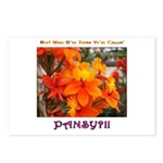Flower With 'Tude Postcards (Package of 8)