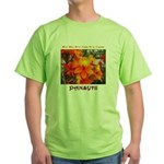 Flower With 'Tude Green T-Shirt