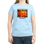 Flower With 'Tude Women's Light T-Shirt