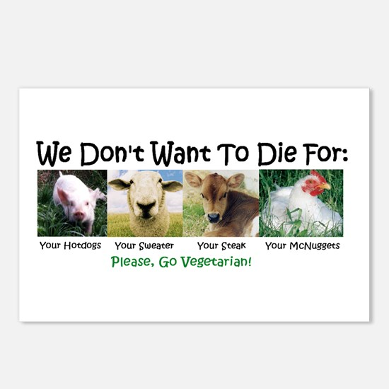 Animal Voices Postcards (Package of 8)