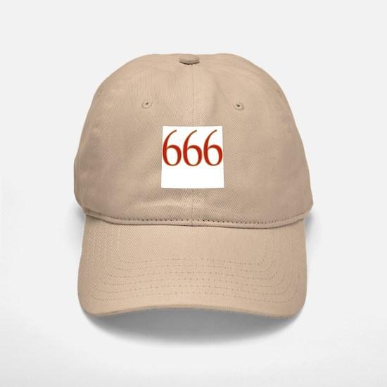 Devil 666 Baseball Baseball Cap