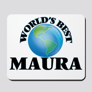 World's Best Maura Mousepad