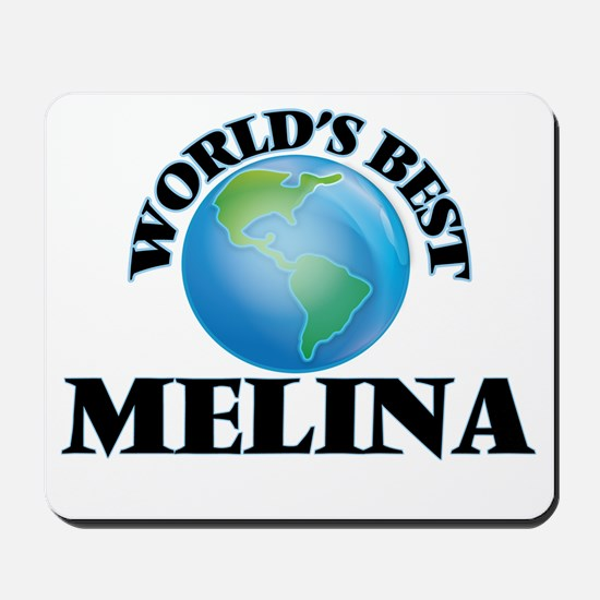 World's Best Melina Mousepad