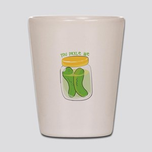 You Pickle Me Shot Glass