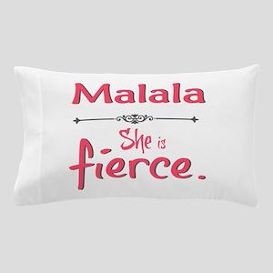 Malala is fierce Pillow Case