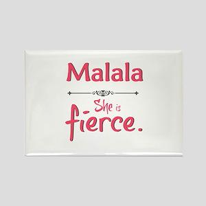 Malala is fierce Magnets