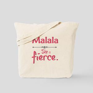 Malala is fierce Tote Bag