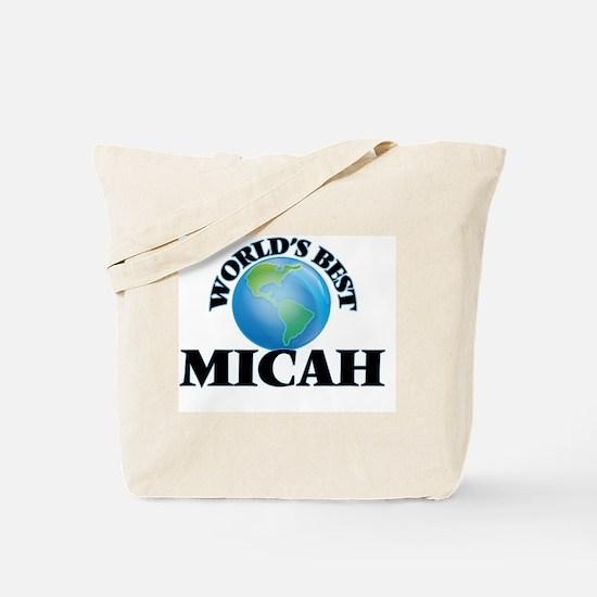 World's Best Micah Tote Bag