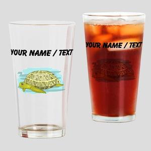 Custom Sea Turtle Drinking Glass