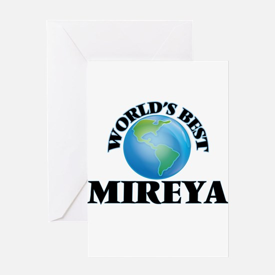 World's Best Mireya Greeting Cards