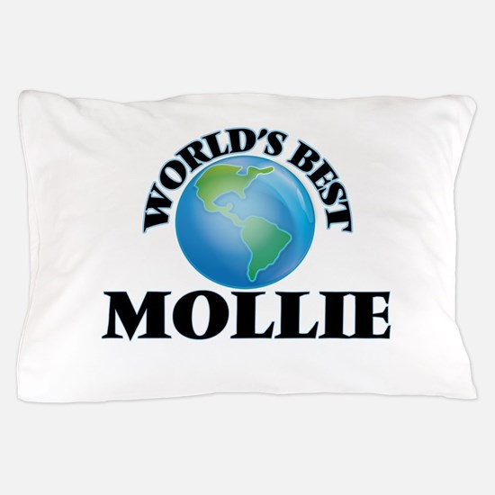 World's Best Mollie Pillow Case