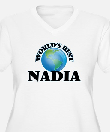 World's Best Nadia Plus Size T-Shirt
