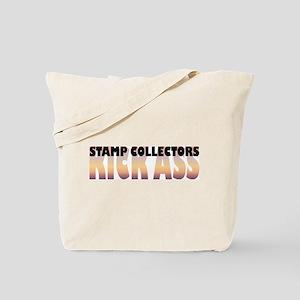 Stamp Collectors Kick Ass Tote Bag