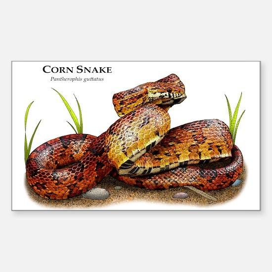 Corn Snake Rectangle Decal