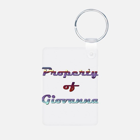 Property Of Giovanna Female Keychains