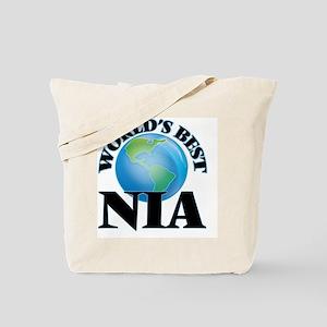 World's Best Nia Tote Bag