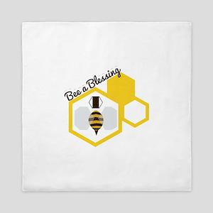Bee A Blessing Queen Duvet