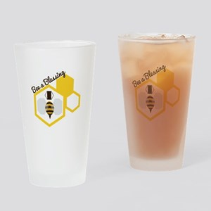 Bee A Blessing Drinking Glass