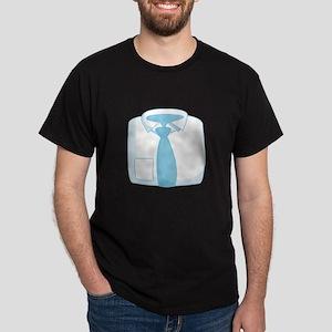 Mans Dress Shirt T-Shirt