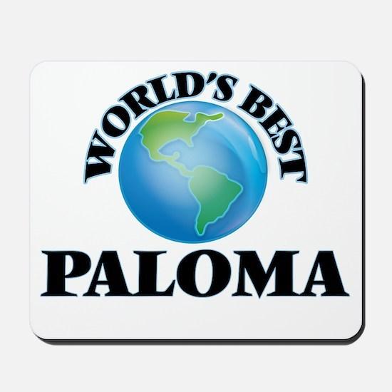 World's Best Paloma Mousepad