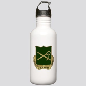 385th MP Battalion Cre Stainless Water Bottle 1.0L