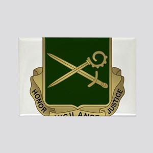 385th MP Battalion Crest Magnets