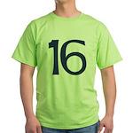 Quixotic 16 Green T-Shirt