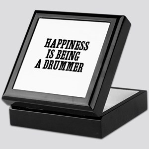 happiness is being a drummer Keepsake Box