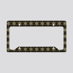 Whimsical Snowflakes Holiday License Plate Holder