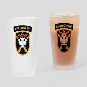 us army john f kennedy special warf Drinking Glass