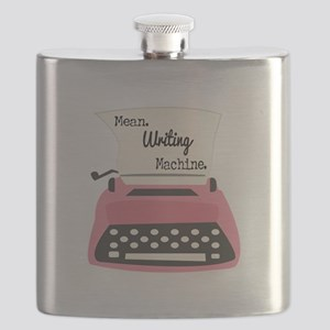 Mean Writing Machine Flask