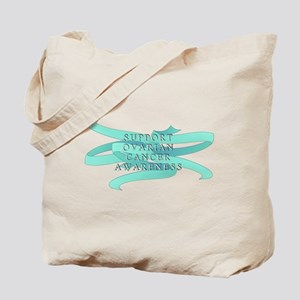 OVARIAN CANCER SUPPORT Tote Bag