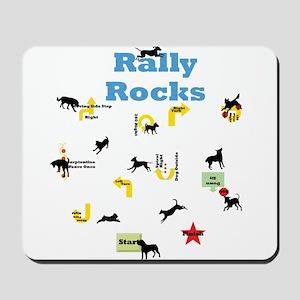 Rally Rocks v5 Mousepad