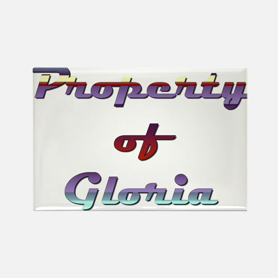 Property Of Gloria Female Magnets