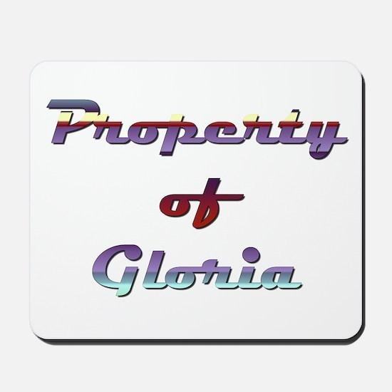 Property Of Gloria Female Mousepad